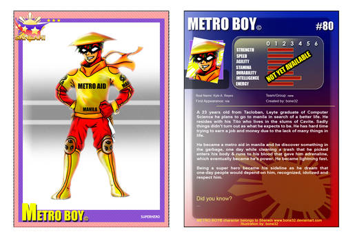 SANLAHI: METRO BOY