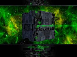 Star Trek - Borg wallpaper by 25kosta