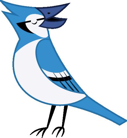 Blue Jay Art Craft Kindergarten Mask