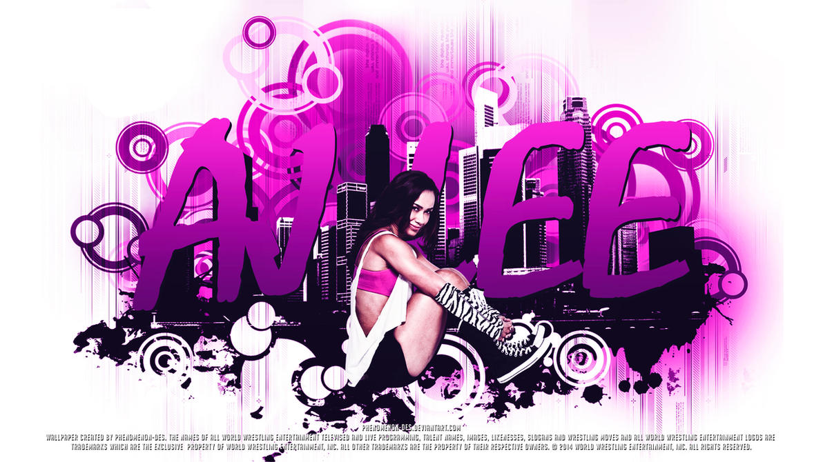 AJ Lee wallpaper probably containing a tennis racket and a tennis player  entitled AJ Lee