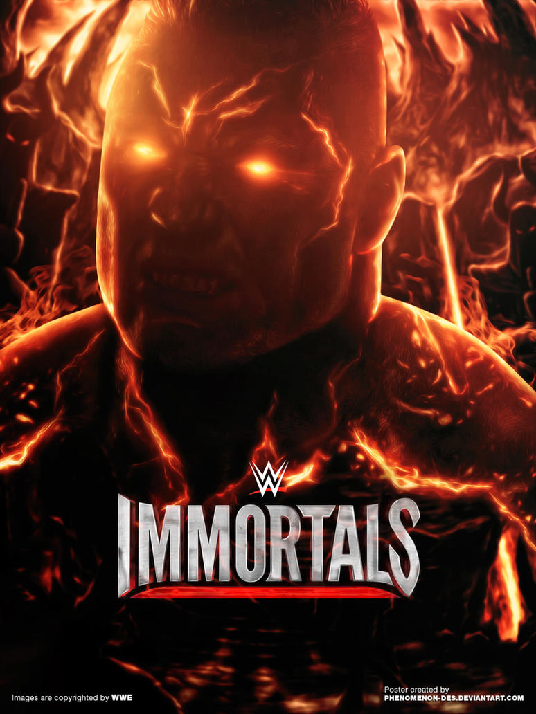 WWE Immortals Poster By Phenomenon Des On DeviantArt Brock Lesnar Eat Sleep Conquer Repeat Wallpaper