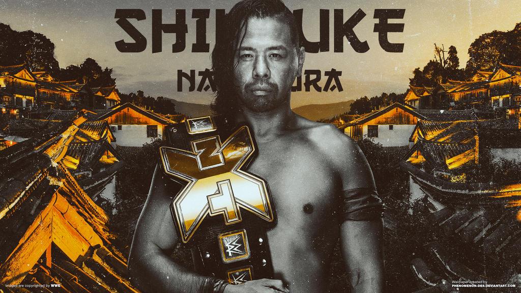 WWE NXT Shinsuke Nakamura Wallpaper By Phenomenon Des