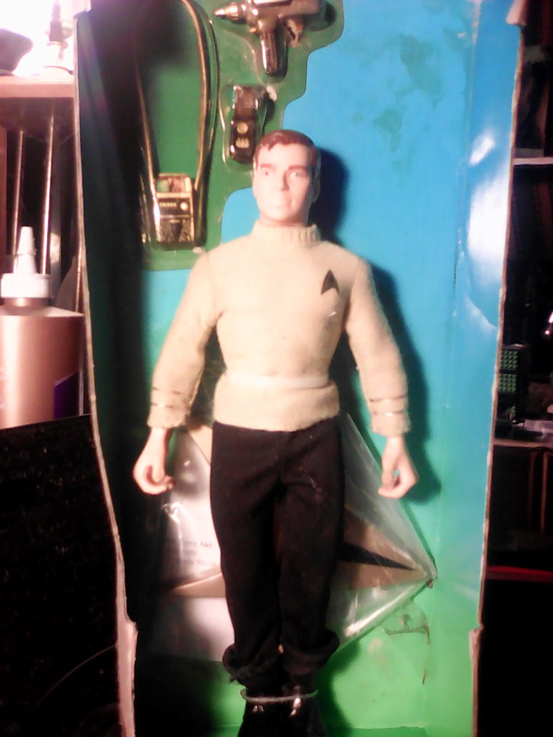 A gift from a relative, Captain Kirk. by arthurdentrgv