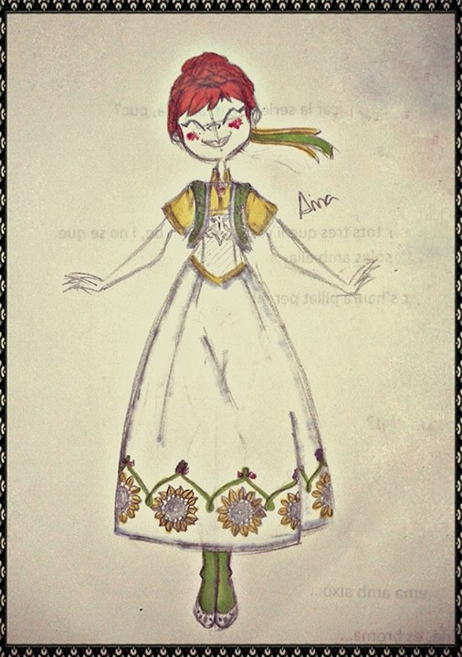 Anna Frozen Fever Concept by Kory-chan