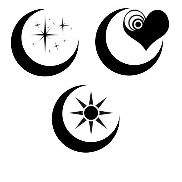 Tattoo Stencils Printable Moon: Moon Tattoos By Forsakenkasht On DeviantArt
