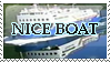 NICE BOAT STAMP by scrillzbee