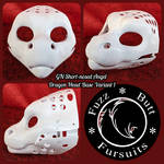 GN Short-nosed Angel Dragon Head Base Variant 1 by FuzzButtFursuits