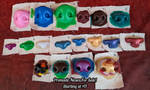 Premade Noses For Sale by FuzzButtFursuits