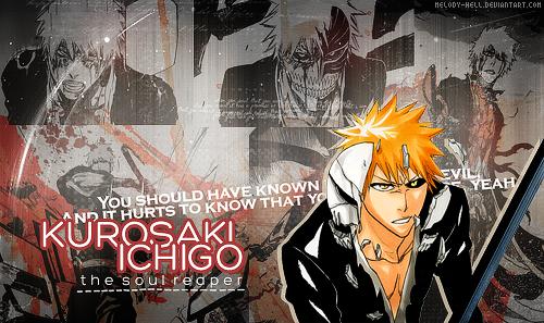 Kurosaki Ichigo - the soul reaper by Melody-Hell
