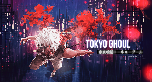 Tokyo Ghoul by Melody-Hell