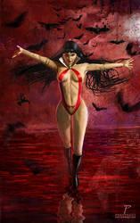 Vampirella by Prestegui