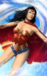 Wonder Woman by Prestegui
