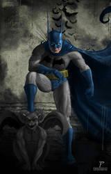 Batman Fanart by Prestegui