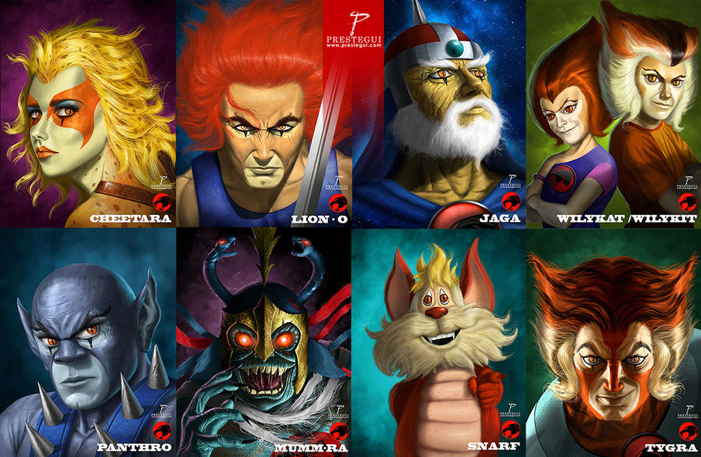 Thundercats Collection by Prestegui