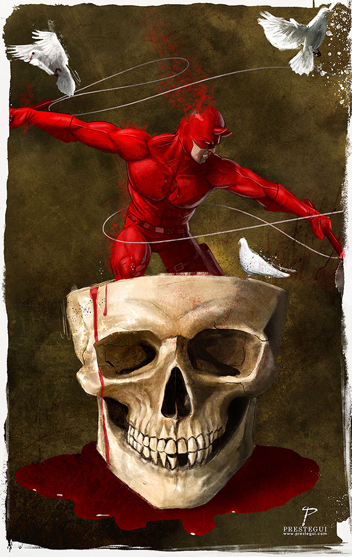 Daredevil by Prestegui