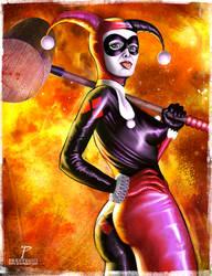 Harley Quinn fanart by Prestegui