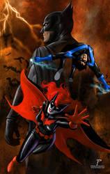 Bat/Family by Prestegui
