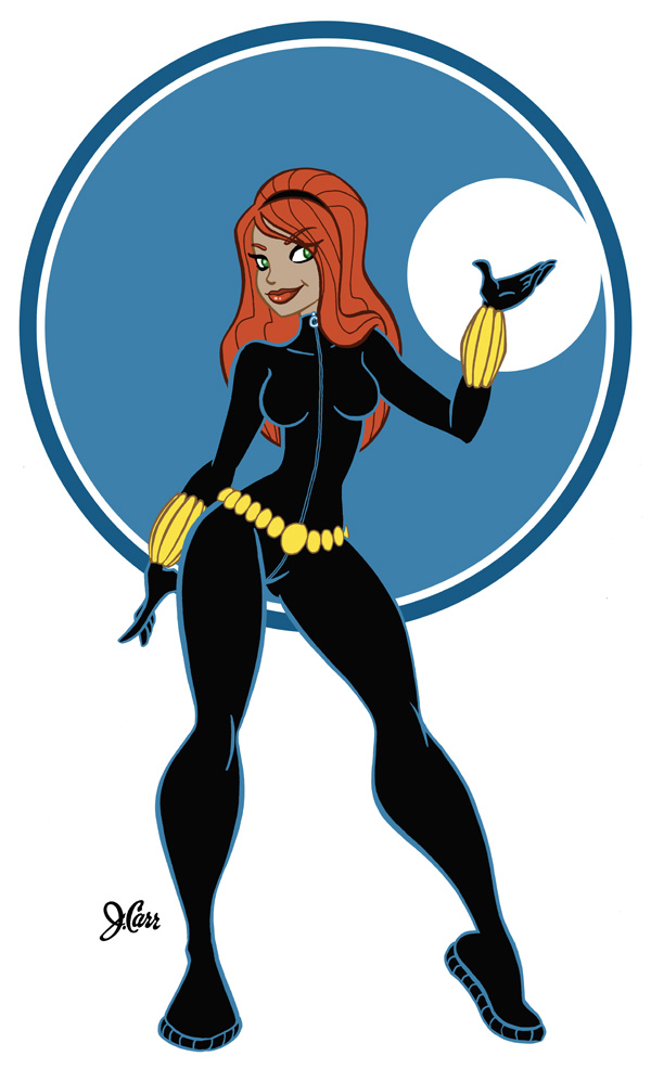 Black Widow by jerrycarr