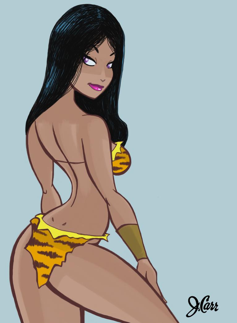 Jungle Princess, iPad Style by jerrycarr