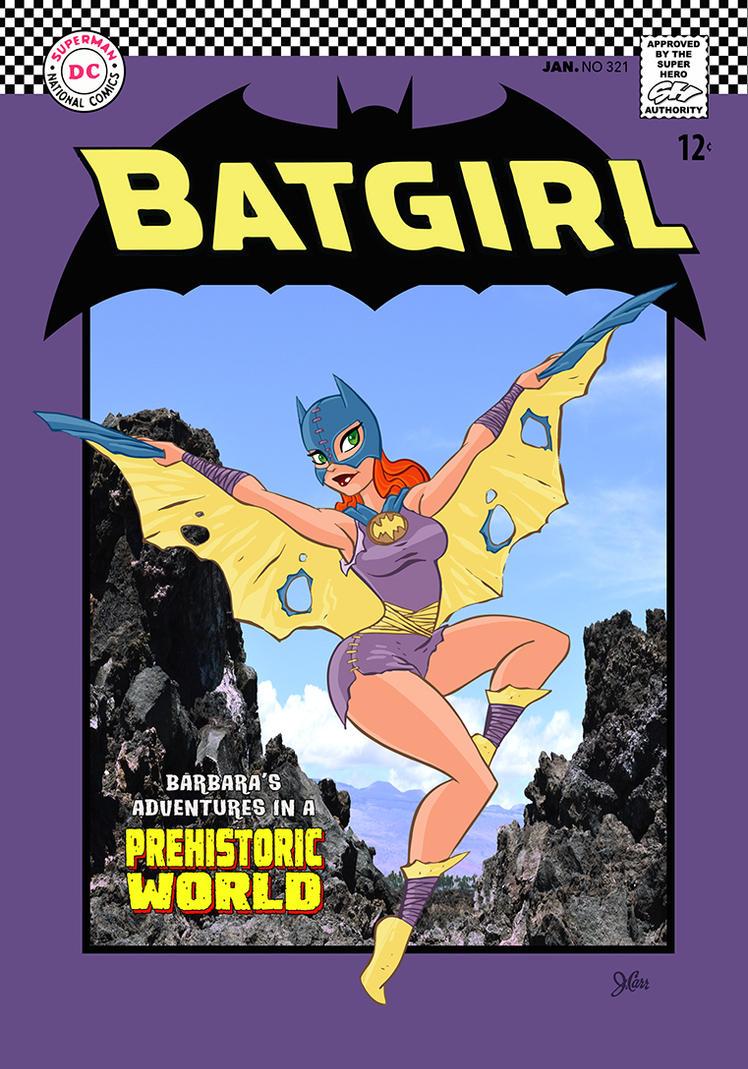 Paleo Batgirl by jerrycarr