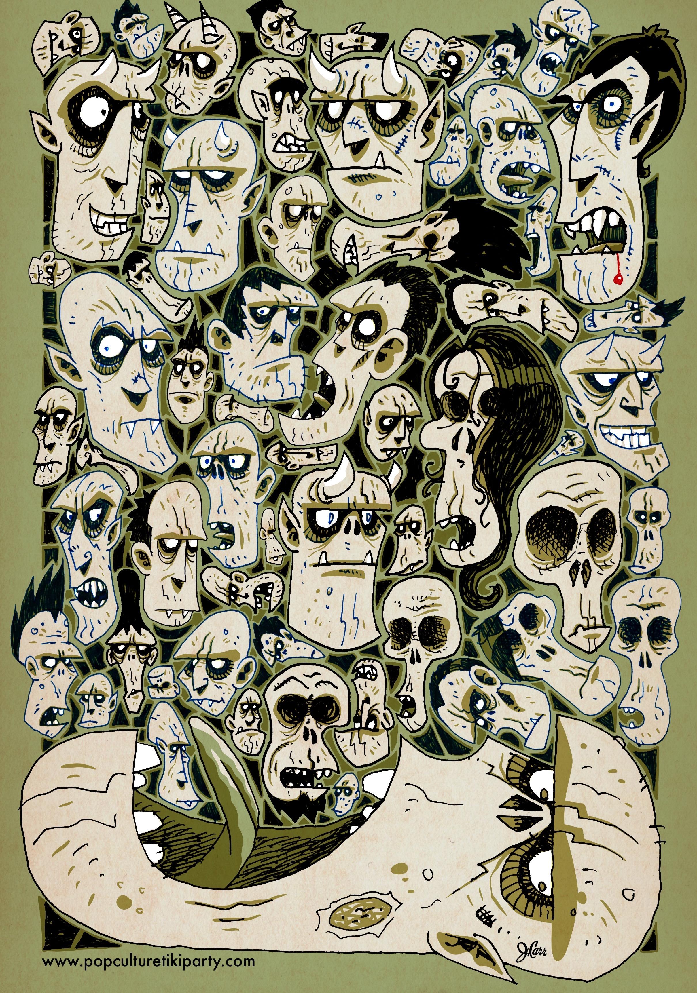 Monster Doodling