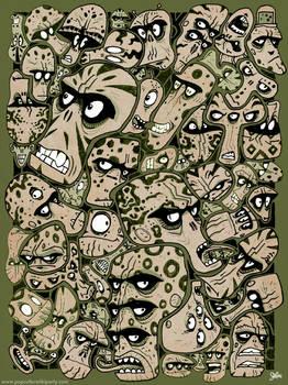 Doodling Aliens