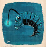PRIMAL Inktober Fish