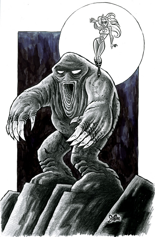 Giant Muckmonster by jerrycarr