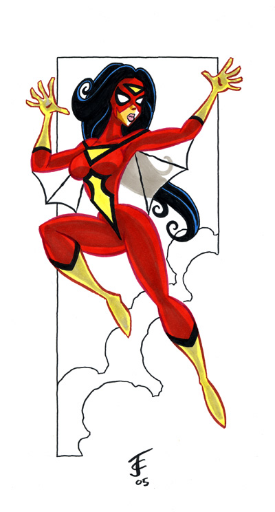 Spider Woman 2 by jerrycarr