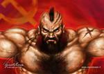 Zangief Street Fighter Fan art