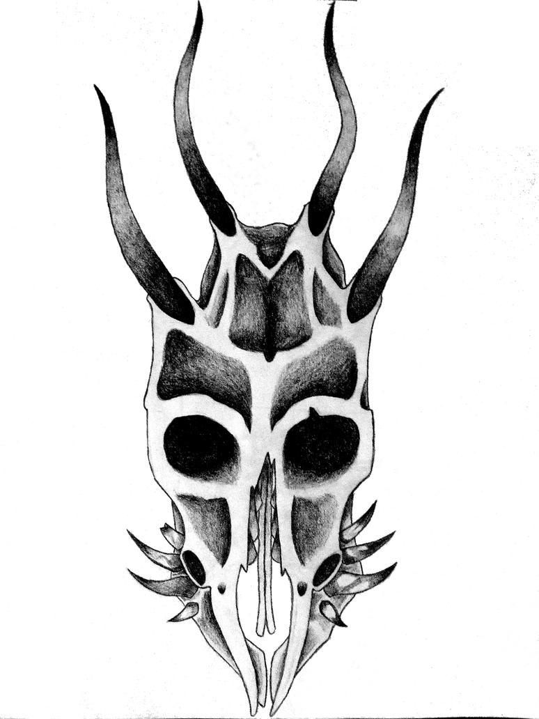 Demon Goat Skull