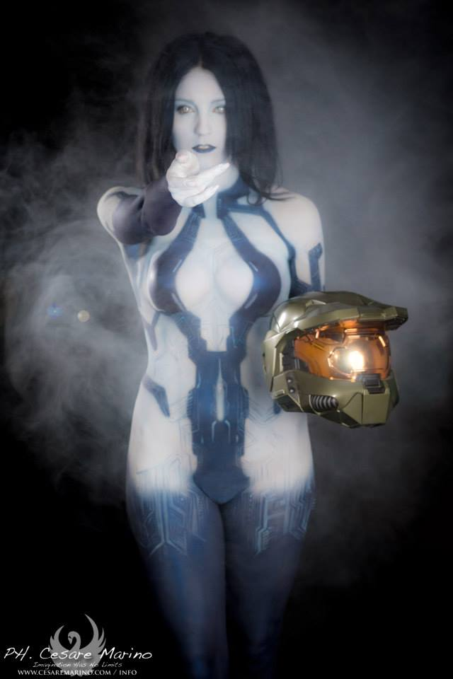 Cortana from Halo 4 by CriminalViolet