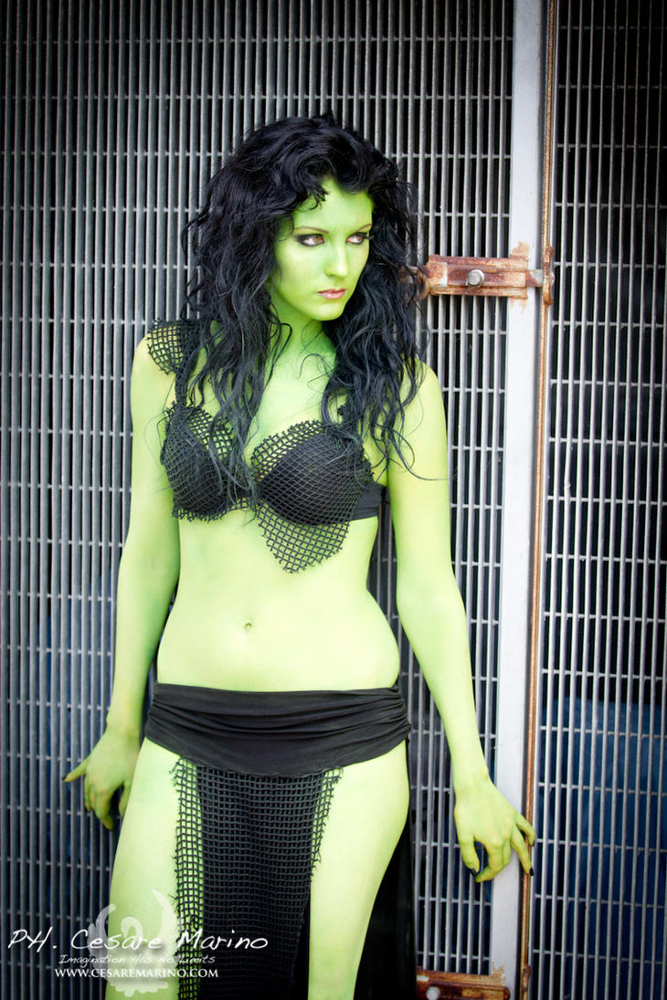 Orion Slave Girl by CriminalViolet