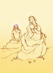 Menaka And Visvamitra