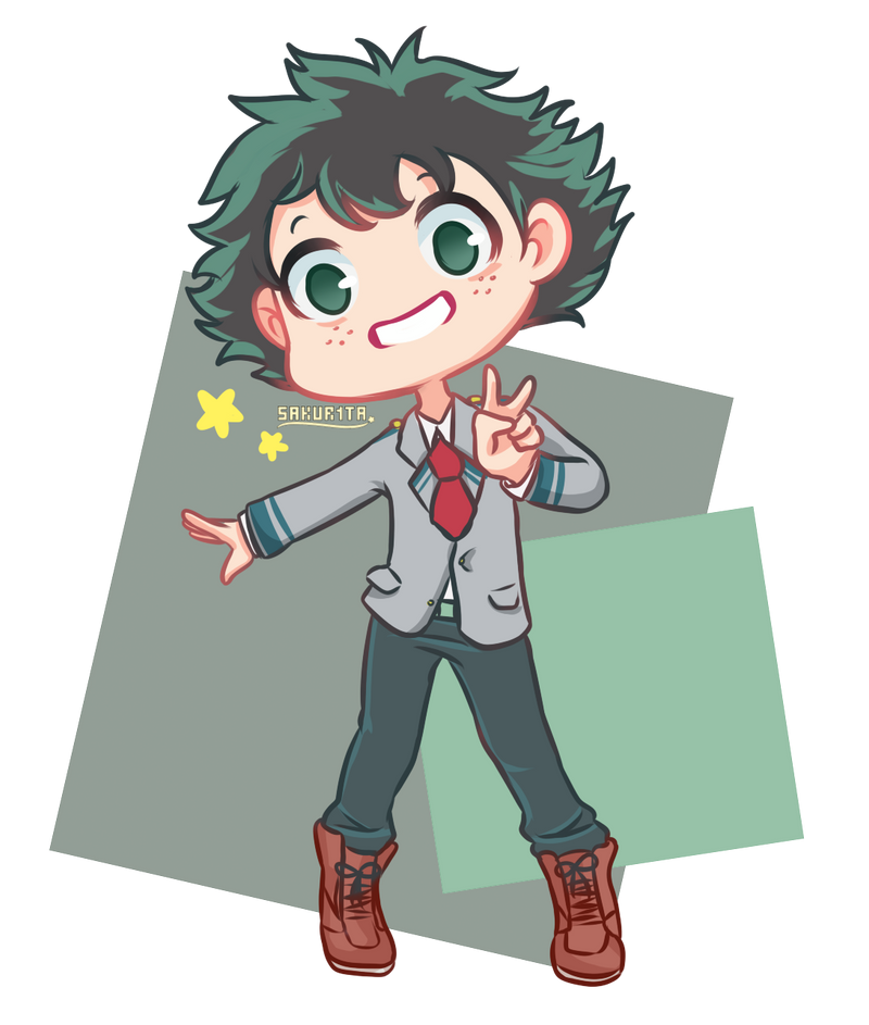Chibi Deku By Sakur1ta On DeviantArt