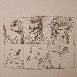 6 Character Challenge 3AllMight 3Dumbo