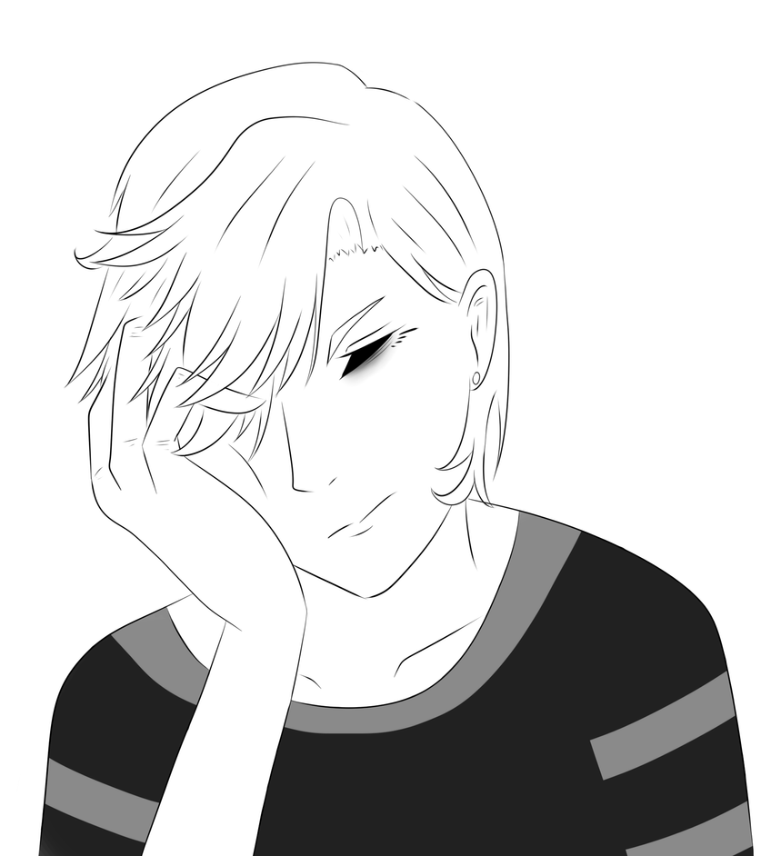 Self Portrait? by NekoSaga
