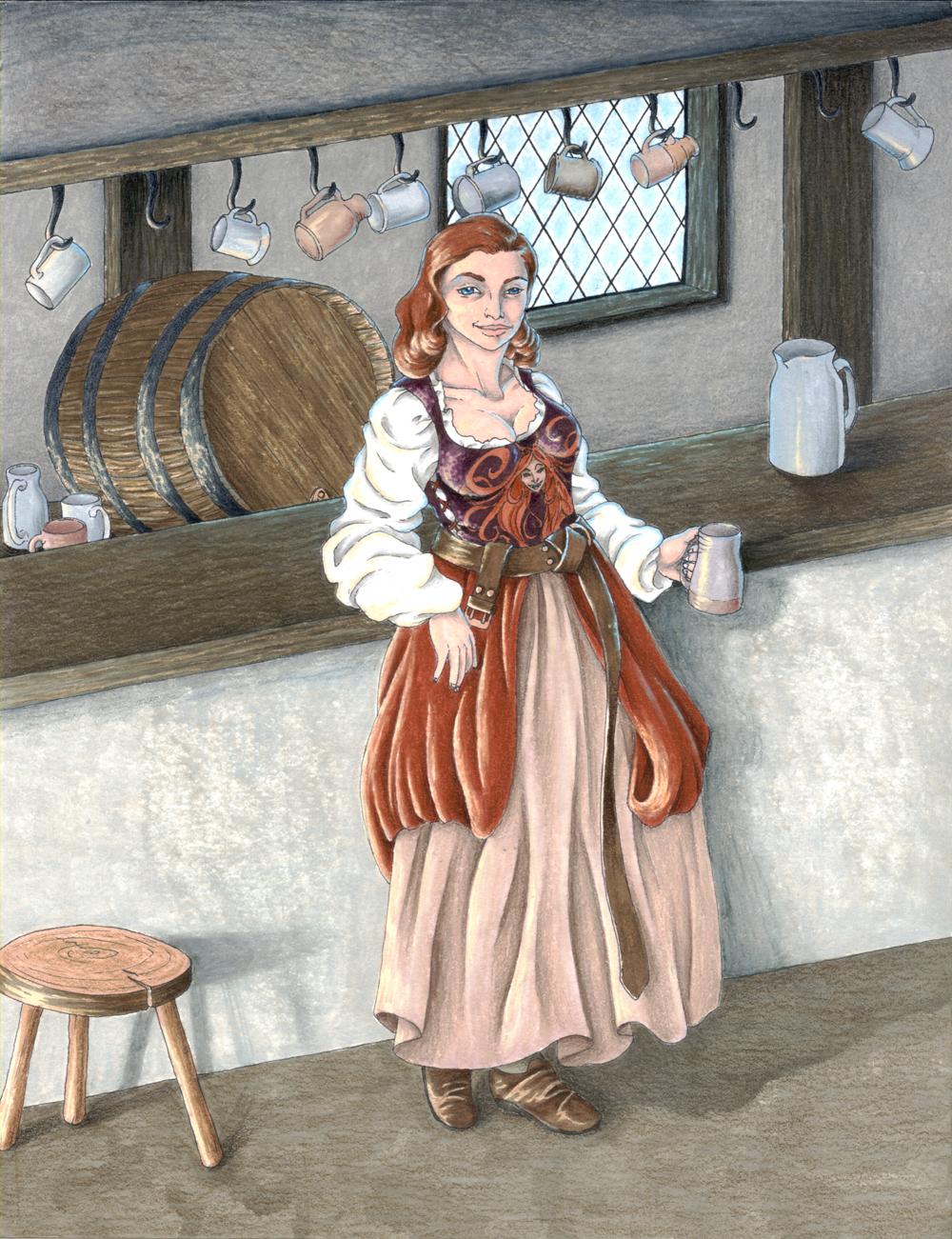 Commission Lady Mara Hornraven by Reymonkey