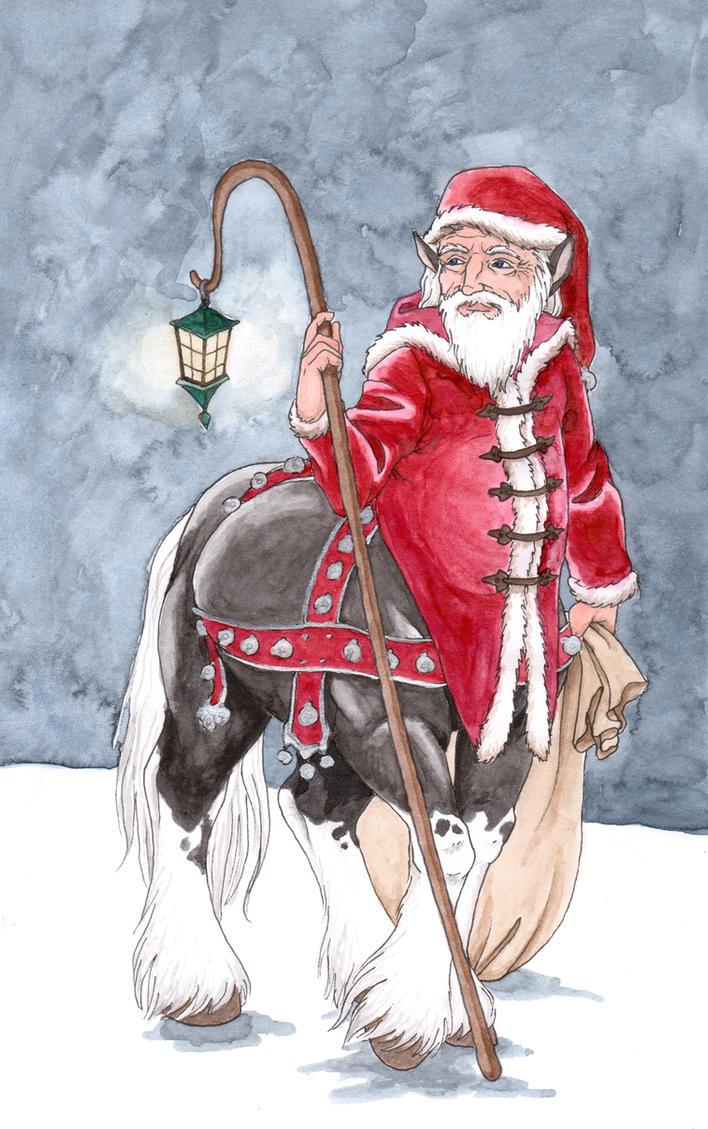 Centaur Claus by Reymonkey