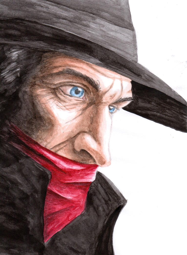 Shadow profile Alex Ross style by Reymonkey