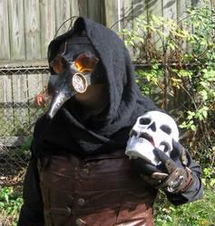 Steampunk Plague Doctor closeup