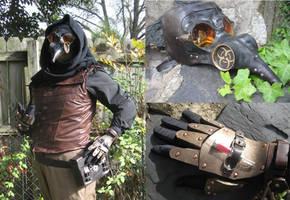 Steampunk Plague Doctor details