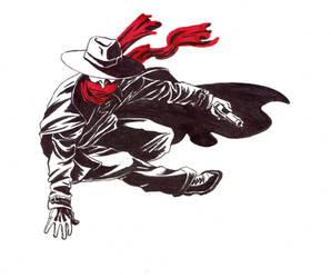The Shadow sideways leap