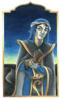 Sulking in Black Sands by Reymonkey