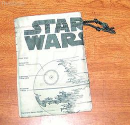Custom Made Star Wars Small Drawstring Bag