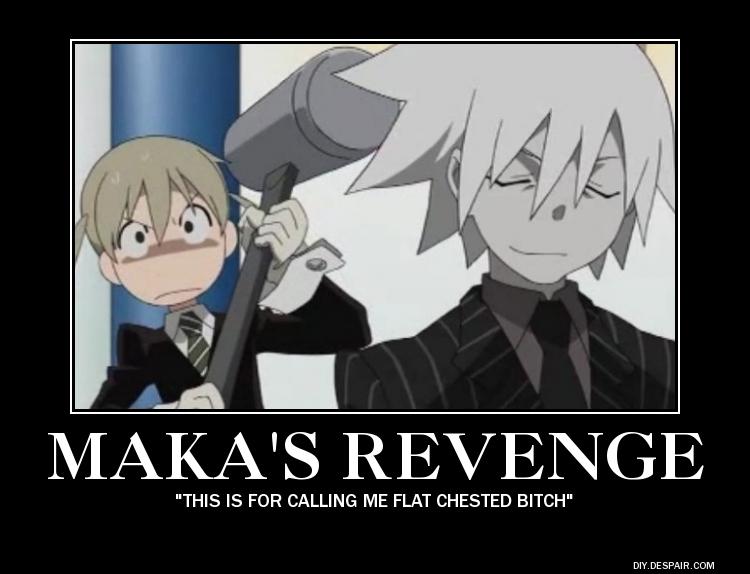 maka's revenge by megamakachop