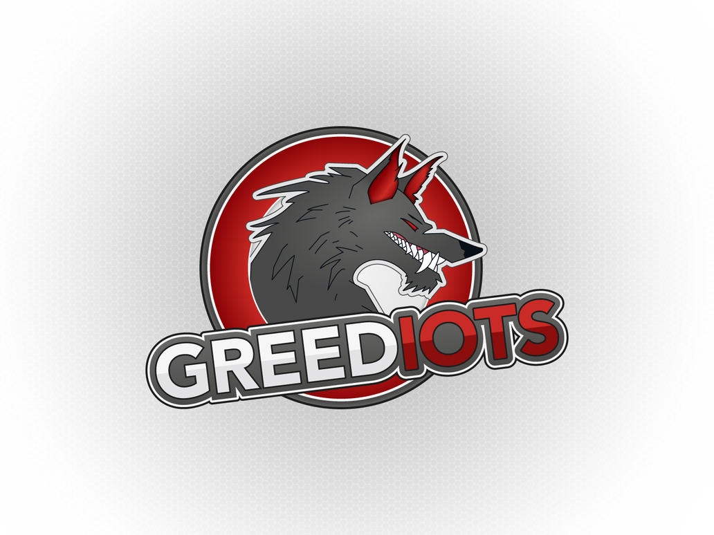 Logo for GREEDIOTS white version by FROQ-ART