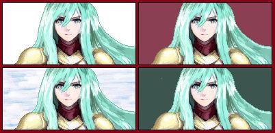 Eirika Pixel Portrait BG Test