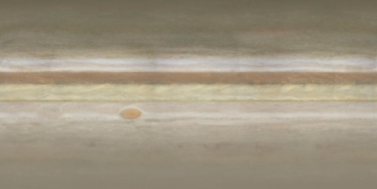 Map of Planet Jupiter Mixed Texture for Celestia by roanalcorano