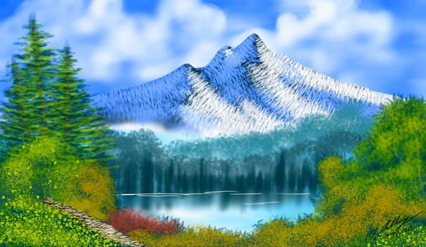 Towering Peaks [Ibis Paint X]